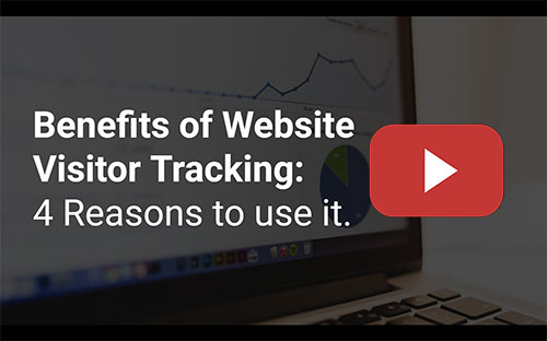 Website visitor tracking service