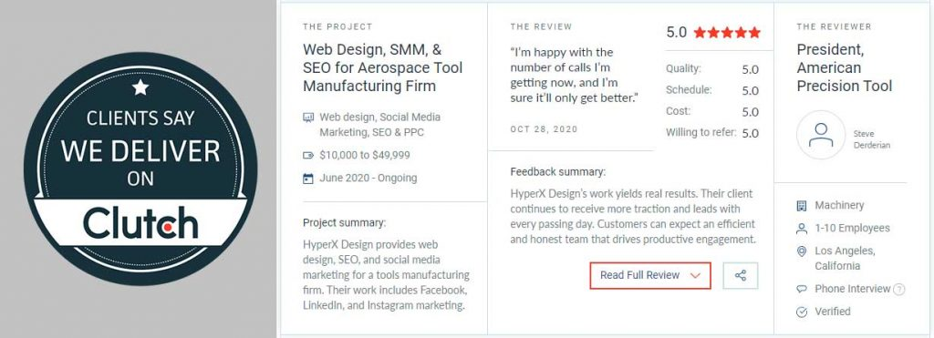 Recommended SEO Companies